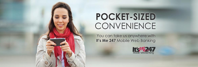 Mobile web banner